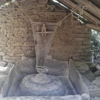 Traditional Corn Grinding machine by water