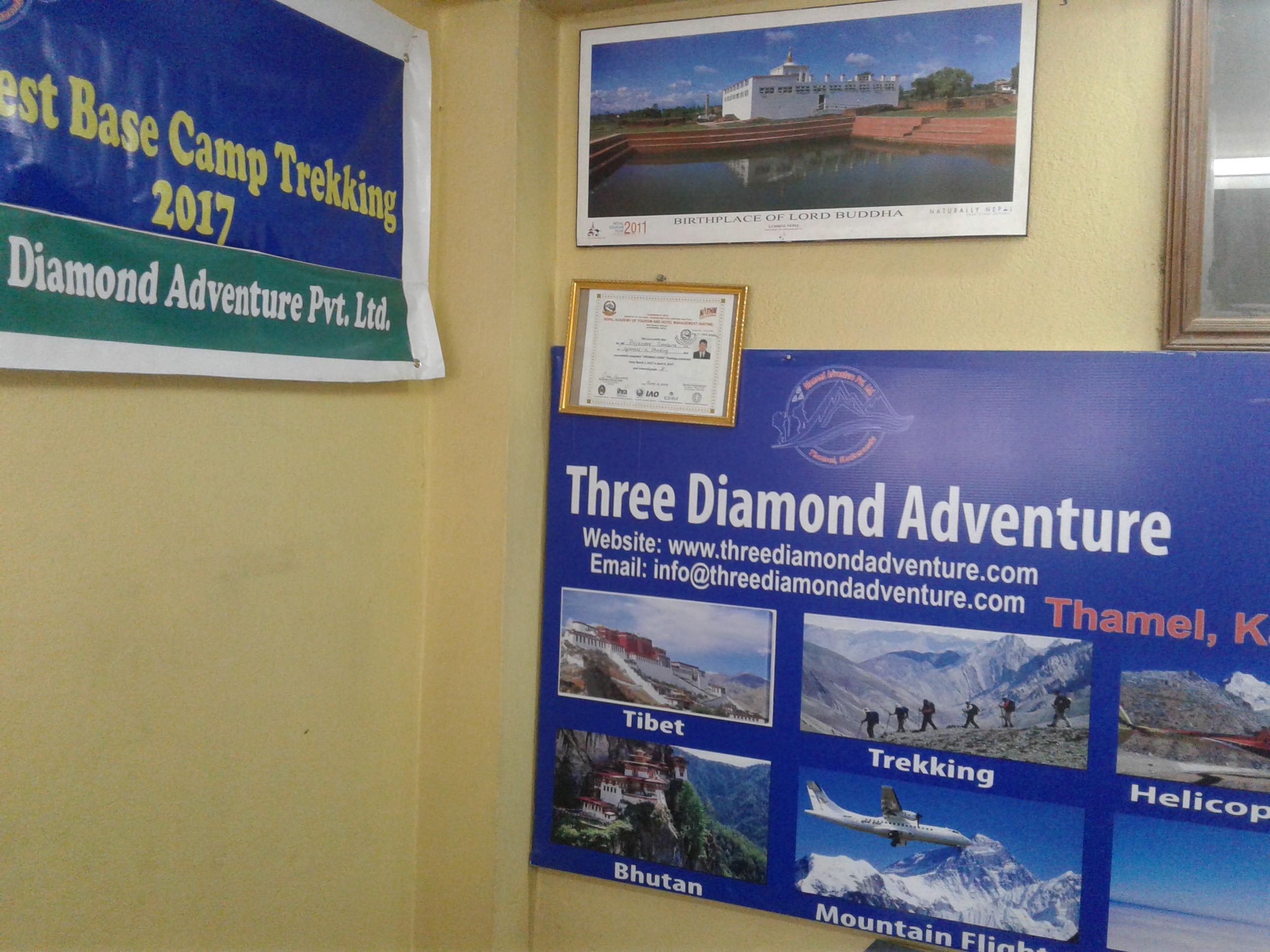 Three Diamond Adventure