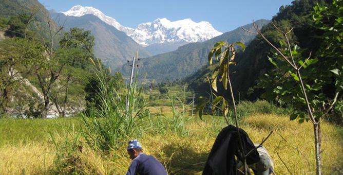 Trekking-Trail-ganesh-himal rubi valley